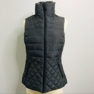 Champion VentureLoft Puffer Vest Charcoal Gray szM